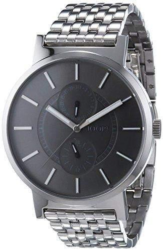 Joop! Herren-Armbanduhr XL Origin Multifunction Analog Quarz Edelstahl JP101441001