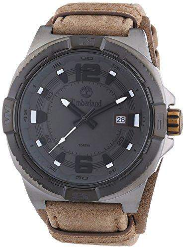 Timberland Herren-Armbanduhr XL Penacook Analog Quarz Leder TBL14112JSUB61