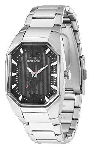Police Damen-Armbanduhr OCTANE Analog Edelstahl P12895LS-02M