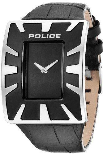 Police Herren-Armbanduhr Analog Quarz Leder PL14006JS02