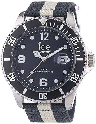 Ice-Watch Herren-Armbanduhr XL Polo Analog Quarz Nylon POABGBN14