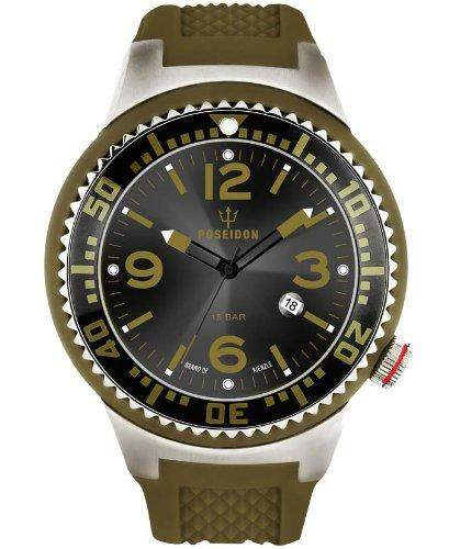 Kienzle Herren-Armbanduhr POSEIDON XL Pro Analog Quarz Silikon K2011013103-00383