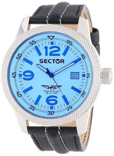 Sector Herren-Armbanduhr Analog Quarz Leder R3251102014