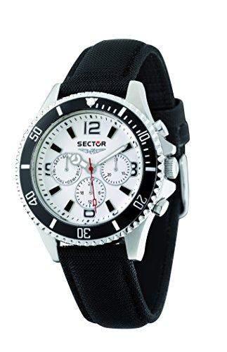 Sector Herren-Armbanduhr 230 Analog Quarz Leder R3251161001