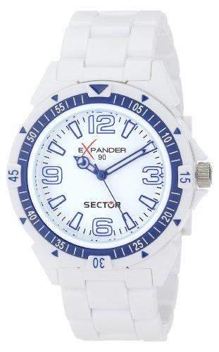 Sector Herren-Armbanduhr XL Expander 90 Analog Plastik R3251197012