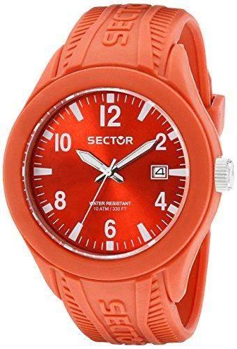 Sector Herren-Armbanduhr Analog Quarz Silikon R3251576004