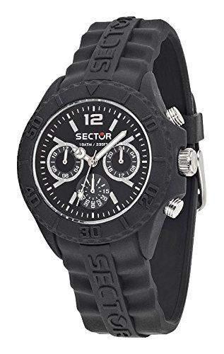 Sector Herren Uhrenbeweger Collection SUB TOUCH Silikon schwarz R3251580001