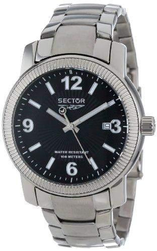 Sector Herren-Armbanduhr Analog Quarz Edelstahl R3253139025