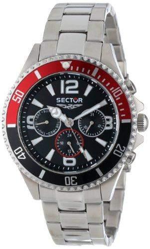 Sector Herren-Armbanduhr 230 Analog Quarz Edelstahl R3253161001