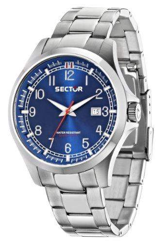 Sector Herren-Armbanduhr 290 Analog Quarz Edelstahl R3253290001
