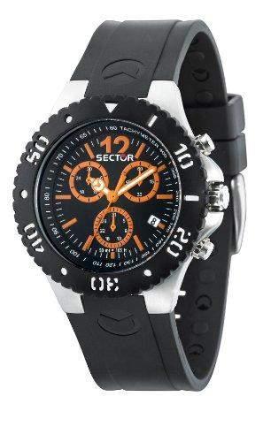Sector Herren-Armbanduhr Analog Quarz Kautschuk R3271611002