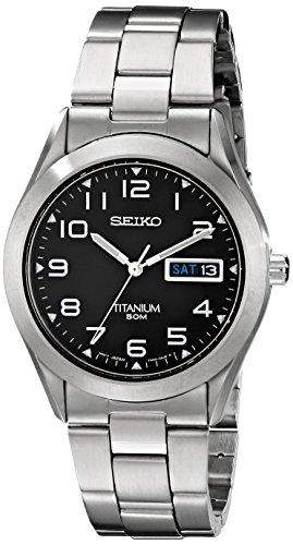 Seiko Mens Titanium Bracelet Watch - SGG711