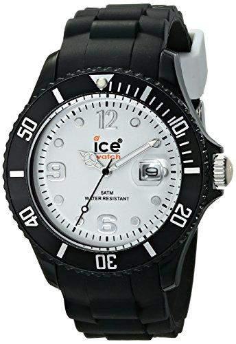 Ice-Watch Ice-White Unisex-Armbanduhr Big Schwarz SIBWBS10
