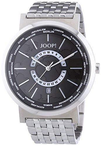 Joop! Herren-Armbanduhr Analog Quarz Edelstahl JP101201F06U
