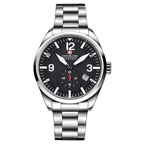 Swiss Military Hanowa Herren Uhr Armbanduhr 06-52460400701