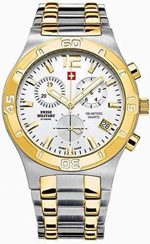 Swiss Military Herrenuhr Chronograph SM3401504