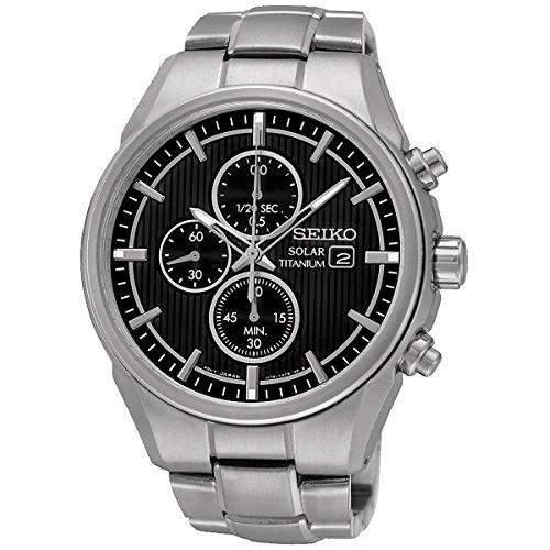Uhr Seiko Solar Ssc367p1 Herren Schwarz