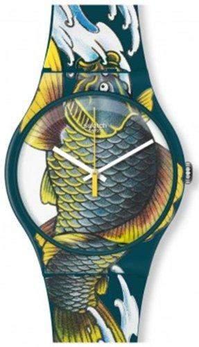 Swatch Waved Koi Herren-Armbanduhr suoz152