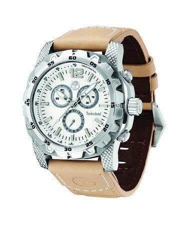 Timberland Herren-Armbanduhr XL Analog Quarz Leder TBL13318JS04B