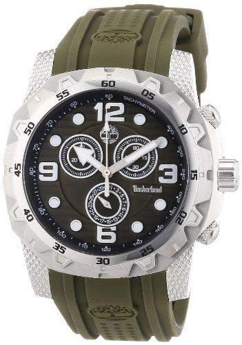 Timberland Herren-Armbanduhr XL Analog Quarz Silikon TBL13318JS24