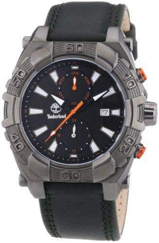 Timberland Herren-Armbanduhr XL Analog Quarz Leder TBL13332JSU02