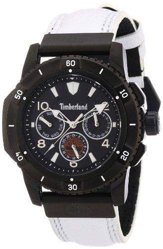 Timberland Herren-Armbanduhr XL Analog Quarz Leder TBL13334JSB02