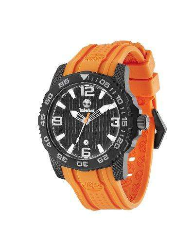 Timberland Herren-Armbanduhr XL Analog Quarz Silikon TBL13613JSB02
