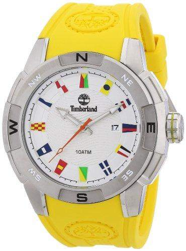 Timberland Herren-Armbanduhr XL Analog Quarz Plastik TBL13849JS04A