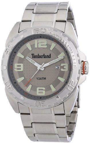 Timberland Herren-Armbanduhr XL Analog Quarz Edelstahl TBL13850JS61M