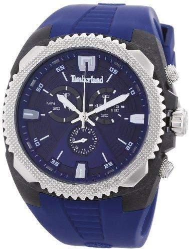Timberland Herren-Armbanduhr XL Analog Quarz Plastik TBL13851JPBS03