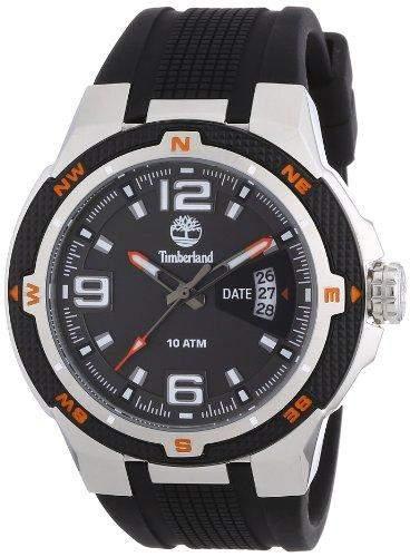 Timberland Herren-Armbanduhr XL Analog Quarz Plastik TBL13852JS61