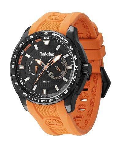 Timberland Herren-Armbanduhr XL Analog Quarz Plastik TBL13854JSB02
