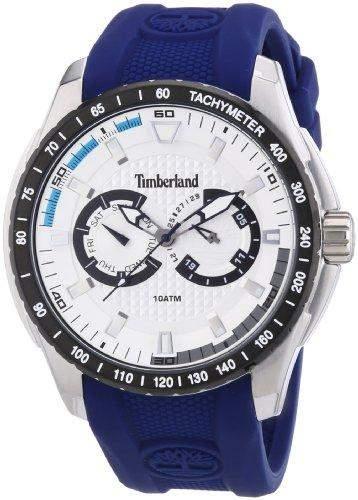 Timberland Herren-Armbanduhr XL Analog Quarz Plastik TBL13854JSTB04