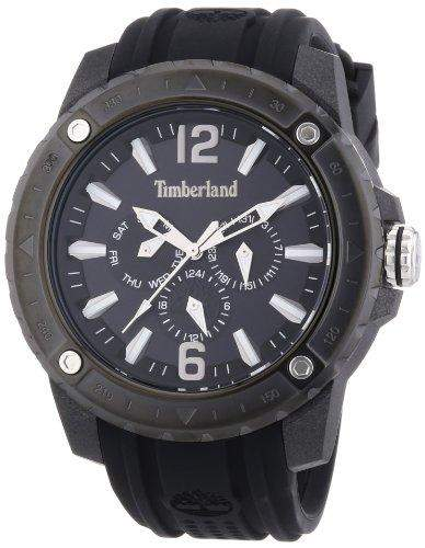 Timberland Herren-Armbanduhr XL Analog Quarz Silikon TBL13911JPB02