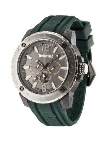 Timberland Herren-Armbanduhr XL Analog Quarz Silikon TBL13911JPBU61