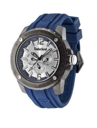 Timberland Herren-Armbanduhr XL Analog Quarz Silikon TBL13911JPGYB04