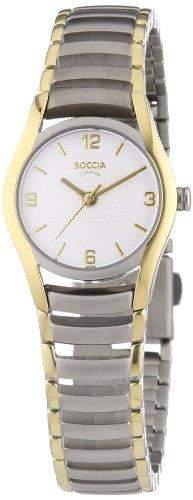 Boccia Damen-Armbanduhr XS Analog Quarz Titan 3207-02