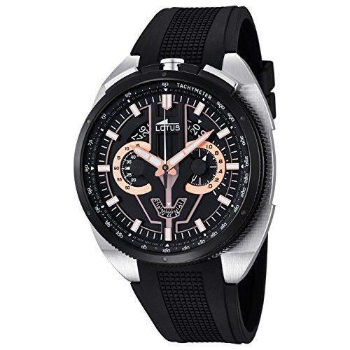 LOTUS Herren-Uhr - Chronograph - Analog - Quarz - PU - UL101284