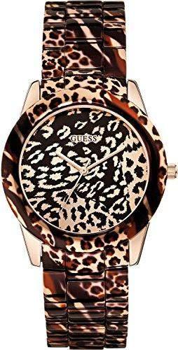 Guess Damen-Armbanduhr Analog Quarz Edelstahl W0425L3