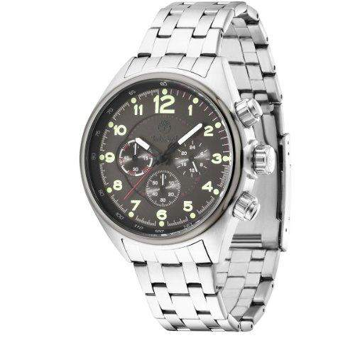 Timberland-TBL 13675js-61m-TARLETON-Zeigt Herren-Armbanduhr 1076312Analog Stahl Silber
