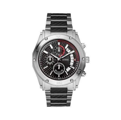 Guess Herren-Armbanduhr Analog Quarz Edelstahl W22519G1