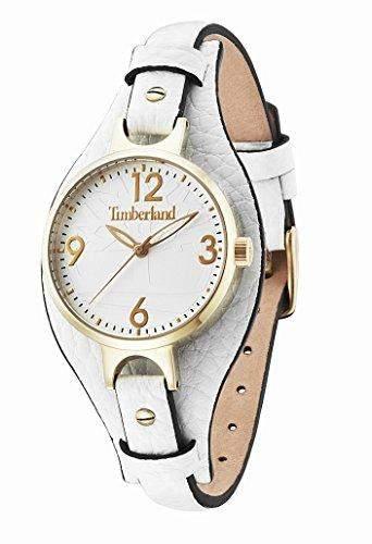 Timberland Damen-Armbanduhr DEERING Analog Quarz Leder 14203LSG01