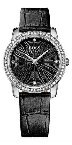 Hugo Boss Damen-Armbanduhr Analog Quarz Leder 1502352