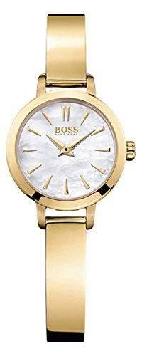 Hugo Boss Damen-Armbanduhr Analog Quarz Edelstahl beschichtet 1502368