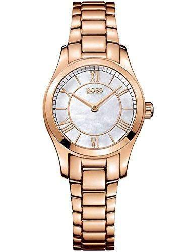 Hugo Boss Damen-Armbanduhr Analog Quarz Edelstahl 1502378