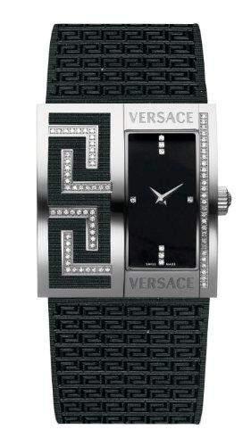"Versace Damenuhr mit Satinband ""V GRECA"" 64Q91FSD009S009"