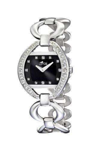 Lotus Damen-Armbanduhr XS Analog Quarz Edelstahl 157174