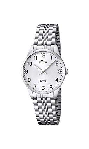 Lotus Damen-Armbanduhr XS Analog Quarz Edelstahl 158841