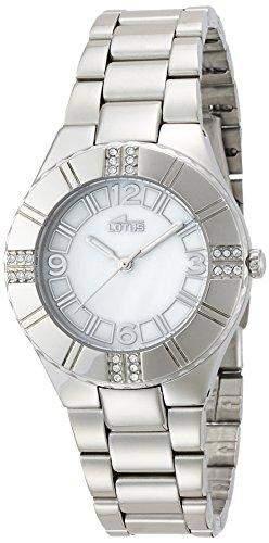 Lotus Damen-Armbanduhr XS Analog Quarz Edelstahl 159051