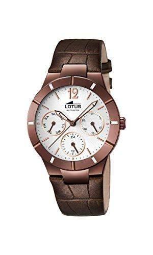 Lotus Damen-Armbanduhr Analog Quarz Leder 159181